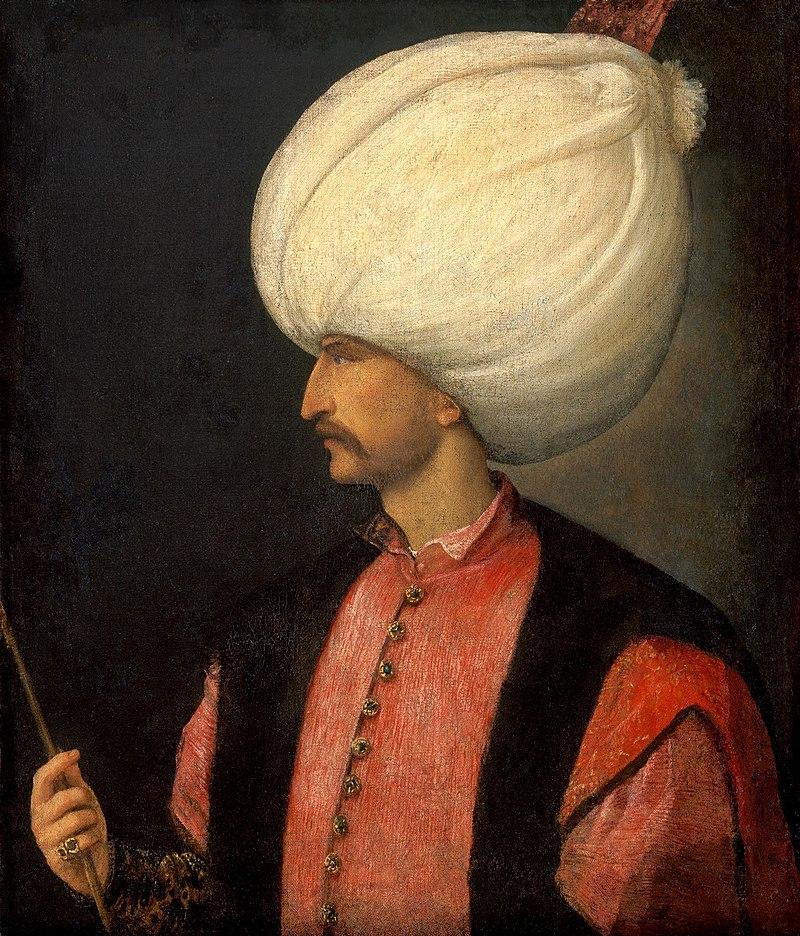 Османский (турецкий) султан Сулейман I Великолепный