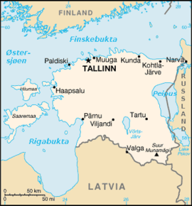 kart over baltikum Estland – Wikipedia kart over baltikum