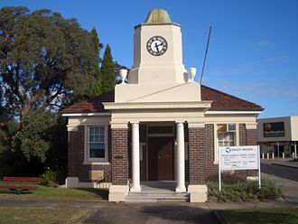 Enfield, New South Wales - Image: Enfield Town Hall