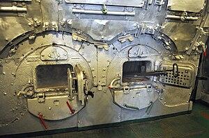 SS Sołdek - Boilers of SS Sołdek