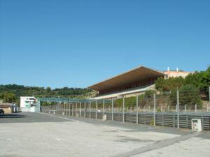 Vista delle tribune dell'Autodromo