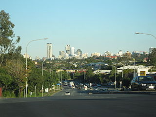 Enoggera, Queensland Suburb of Brisbane, Queensland, Australia
