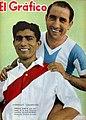 Enrique García y Luis Guzmán (Argentina vs. Perú). - El Gráfico 1177.jpg