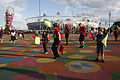 Entertainment in the Olympic Park (7723964496).jpg