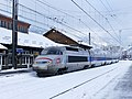 Entrée à Modane d'un TGV Milan-Paris dans la neige (décembre 2017) 2.JPG