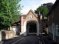 Entrance to Sutton Court, Church Yard, Tring - geograph.org.uk - 1594505.jpg