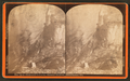 Entrance to cave, Skinner Hollow, Manchester, Vt, by Allen, H. S. (Henry S.).png