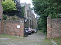 Entrance to private car park, Durham - geograph.org.uk - 1004754.jpg