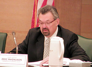 Eric J. Magnuson - Magnuson on the State Canvassing Board in 2008
