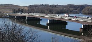 Crescent, New York - Crescent Bridge, Crescent, New York