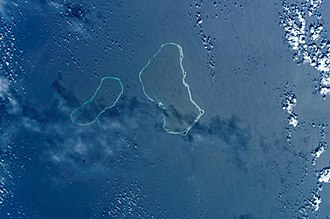 Wotje Atoll - NASA picture of Erikub and Wotje Atolls