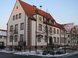 Erlenbach am Main - Image: Erlenbach Rathaus