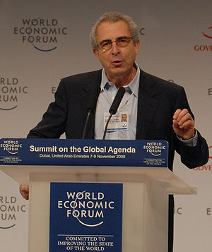 English: A cropped picture of Ernesto Zedillo,...