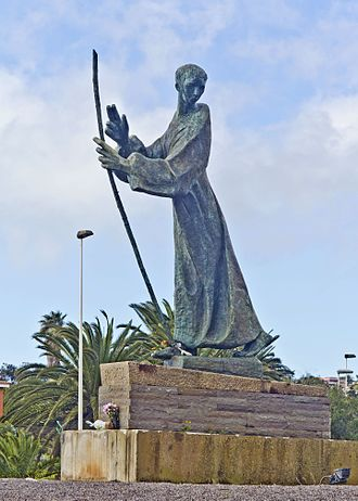 Joseph of Anchieta - Monument to José de Anchieta in San Cristóbal de La Laguna, Tenerife.