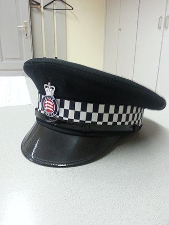 Essex Police - Cap of the Essex Police