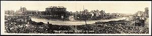 Étain, Meuse - World War I damage at Étain