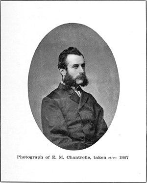 Eugene Chantrelle - A portrait of Chantrelle circa 1867