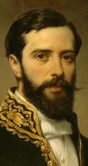 Théodule Devéria - 1864 portrait of Théodule by Eugène Devéria