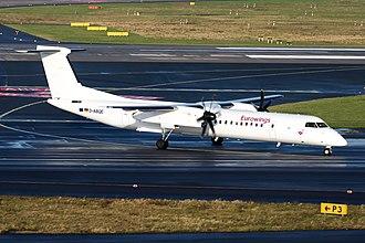 Luftfahrtgesellschaft Walter - LGW Bombardier Dash 8-Q400 operated for Eurowings