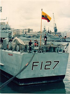 Penelope delivered to Ecuador in 1991