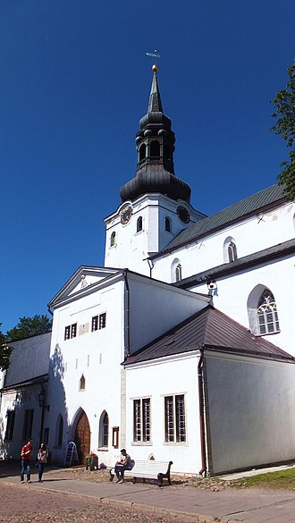 St Mary's Cathedral, Tallinn - Image: Exterior of St Mary's Cathedral, Tallinn
