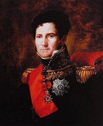 Felice Pasquale Baciocchi - Portrait circa 1805