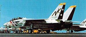 VFA-2 - Image: F 14A VF 2 USS Enterprise (CVAN 65) 1975