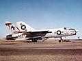 F-8H Crusader of VF-201 at NAS North Island 1972.jpg