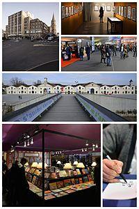 Foto montaje de varias regiones de Francia.