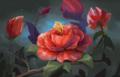 FINAL Iris Hopp LARP Painted Flowers Red.png