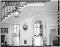 FIRST FLOOR, ENTRY HALL LOOKING SOUTHEAST - Rockwood, 610 Shipley Road, Wilmington, New Castle County, DE HABS DEL,2-WILM.V,3-12.tif