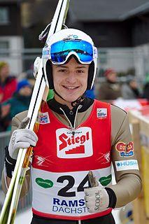 Tomáš Portyk Czech Nordic combined skier