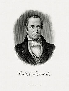 FORWARD, Walter-Treasury (BEP engraved portrait)