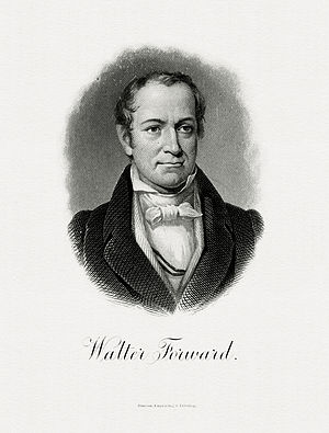 Walter Forward - Bureau of Engraving and Printing portrait of Forward as Secretary of the Treasury.
