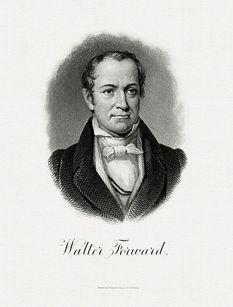 Walter Forward - Bureau of Engraving and Printing portrait of Forward as Secretary of the Treasury.