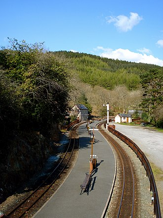 Tan-y-Bwlch railway station - Tan-y-Bwlch in 2008