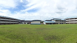 Caraga - Panorama of Father Saturnino Urios University Morelos Campus in Butuan City