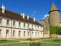 Façade S + tour, prieuré N-D Paray - 71.jpg