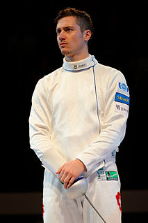 Fabian Kauter Swiss fencer