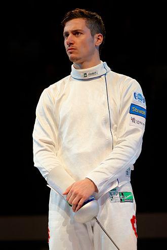Fabian Kauter - Kauter at the 2013 Masters Épée