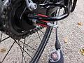 Fahrradschlauch erneuern SRAM S7 Schaltung vom Fahrrad Abbauen 4.JPG