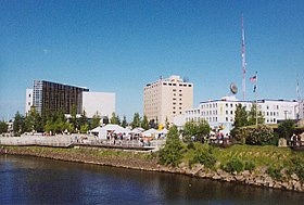 Centre-ville de Fairbanks