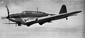 11 Squadron SAAF - Fairey Battle similar to that flown by the squadron in East Africa in 1941