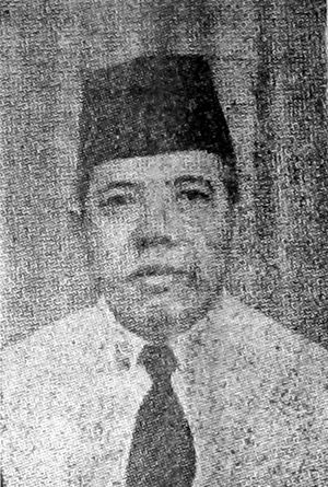 Fakih Usman - Fakih as Minister of Religious Affairs, 1952