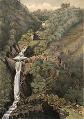 Falls of the Mynach, Devil's Bridge: Cardiganshire