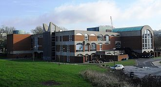 Grade I listed buildings in Brighton and Hove - Sir Basil Spence designed many buildings on the campus of the University of Sussex, including Falmer House.
