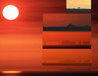 Mirage Naturally occurring optical phenomenon