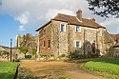 Farmhouse, St Radigund's Abbey Farm (geograph 4901835).jpg
