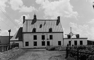 Maison Saint-Gabriel - The Maison Saint-Gabriel in 1939.