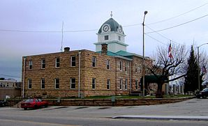 Fentress County Courthouse in Jamestown